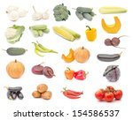 collection of different... | Shutterstock . vector #154586537
