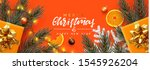 holiday background merry... | Shutterstock .eps vector #1545926204