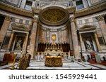 Panorama Of The Pantheon...
