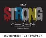 strong typography for print t... | Shutterstock .eps vector #1545969677