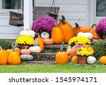 A Beautiful Fall Display Of...