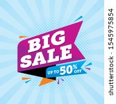 super sale special offer  sale... | Shutterstock .eps vector #1545975854