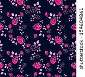 floral pattern | Shutterstock .eps vector #154604861
