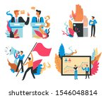 presidential election and... | Shutterstock .eps vector #1546048814