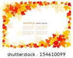 autumn background with leaves.  ...