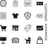 market vector icon set such as  ... | Shutterstock .eps vector #1546212971