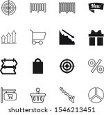 market vector icon set such as  ... | Shutterstock .eps vector #1546213451