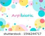 antibiotic symbol. illustration ...