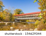 Covered Bridge And Fall Colors...