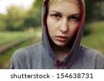 young criminal said teenager... | Shutterstock . vector #154638731