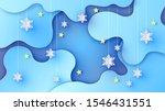 illustration of winter night... | Shutterstock .eps vector #1546431551