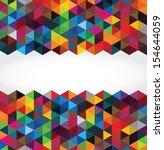 Abstract modern geometric background   Shutterstock vector #154644059