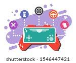 mobile game genre variation...   Shutterstock .eps vector #1546447421