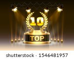 top 10 best podium award sign ... | Shutterstock .eps vector #1546481957