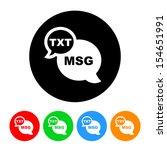 Phone Text Icon