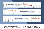 christmas sale mobile banner... | Shutterstock .eps vector #1546611527