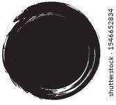 circle brush stroke vector... | Shutterstock .eps vector #1546652834