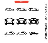 sport car icon isolated sign... | Shutterstock .eps vector #1546735511