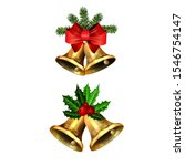 christmas decorations with fir...   Shutterstock .eps vector #1546754147