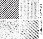 grunge set stripe. vector... | Shutterstock .eps vector #154676591