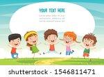 little children having fun... | Shutterstock .eps vector #1546811471