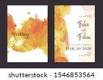 abstract watercolor modern... | Shutterstock .eps vector #1546853564