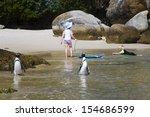 boulders beach  south africa  ... | Shutterstock . vector #154686599