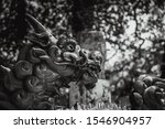 Japanese Or Asian Dragon Statue ...
