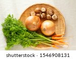 carrot vegetables  mushrooms ...