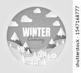 winter is coming. winter...   Shutterstock .eps vector #1547168777