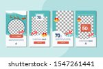 winter sale mobile banner for... | Shutterstock .eps vector #1547261441