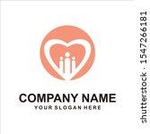 people love logo vector design | Shutterstock .eps vector #1547266181