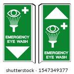 emergency eye wash symbol sign  ...   Shutterstock .eps vector #1547349377