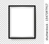vector photo frame mockup design | Shutterstock .eps vector #1547397917