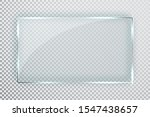 glass plates set. glass banners ... | Shutterstock .eps vector #1547438657