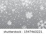 christmas snow. falling... | Shutterstock .eps vector #1547463221