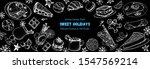 winter season food. sweet...   Shutterstock .eps vector #1547569214