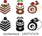 the cute icons of various...   Shutterstock .eps vector #1547717174