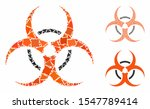 bio hazard mosaic of rugged... | Shutterstock .eps vector #1547789414