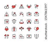 wedding love valentine modern... | Shutterstock .eps vector #1547861597