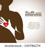 health care  over beige... | Shutterstock .eps vector #154786274