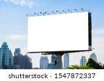 Billboard Mockup Outdoors ...