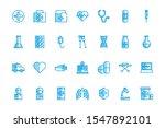 medical icon set design ... | Shutterstock .eps vector #1547892101