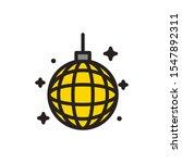 disco sphere design  party...   Shutterstock .eps vector #1547892311