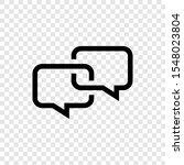 bubble speech icon design...