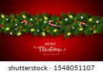 christmas and happy new year... | Shutterstock .eps vector #1548051107