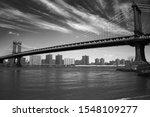 Manhattan Bridge New York City...
