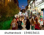 athens august 1  nightlife in... | Shutterstock . vector #154815611