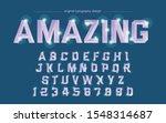 purple metallic chrome artistic ... | Shutterstock .eps vector #1548314687