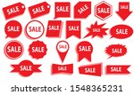 discount logo to sell anything. ... | Shutterstock .eps vector #1548365231